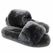 Тапочки Fluff Slide Slippers Grey