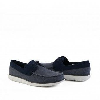 Catton Canvas Blue