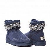 Jimmy Choo Crystals Navy
